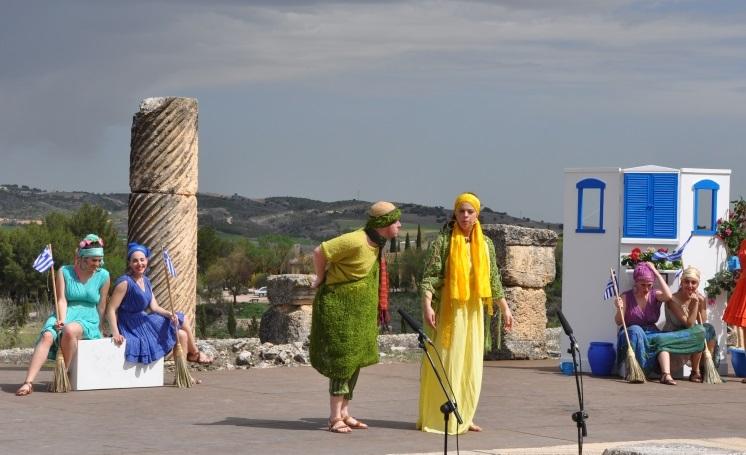 """Asamblea de las mujeres"", de Aristófanes. Grupo ""Selene"", del I.E.S. ""Carlos III"", de Madrid"