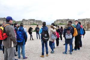 Alumnos en el Anfiteatro