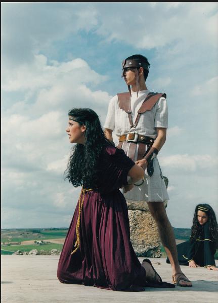 """""""Andrómaca"""", de Eurípides. Grupo Selene. Segóbriga,1998"""